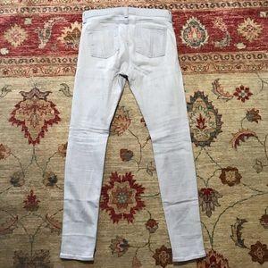 rag & bone Jeans - Rag and bone lite grey skinny jeans